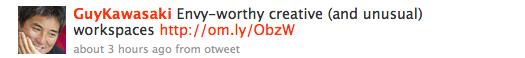 Original Tweet, with a link