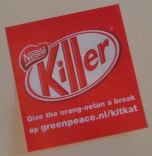 greenpeace campaign against Nestle