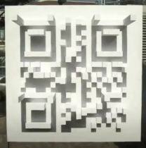 QR code created by shadow