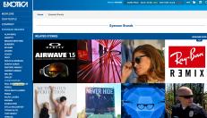 Luxottica's New Brand page