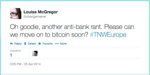 anti bank rant tweet